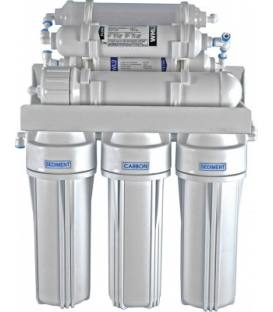 7-stufiges Umkehrosmosesystem mit 75er Membran, Remineralisierer und Biokeramik