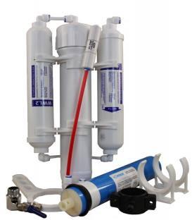 3 Stufen Umkehrosmose Osmose Anlage Aquaristik Wasserfilter