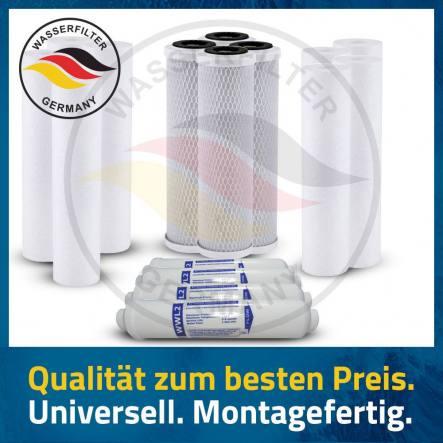2 Jahres Umkehrosmose Anlage Ersatzfilterset Wasserfilter Ersatzfilter