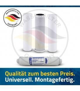 Jahres Umkehrosmose Anlage Ersatzfilterset Wasserfilter Ersatzfilter