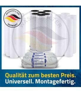 3 Jahres Umkehrosmose Anlage Ersatzfilterset Wasserfilter Osmose Wechselkartuschen