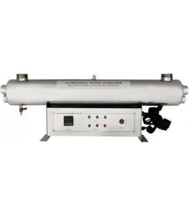 """UV Lampe 165W, 36G Gehäuse aus rostfreiem Stahl, 2"""" Anschluss, Durchfluss 8,16m3/h"""