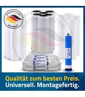 3 Jahres Umkehrosmose Anlage Ersatzfilterset Wasserfilter Ersatzfilter Membrane